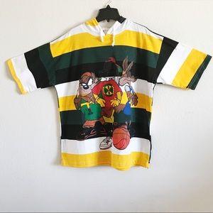 Other - NEW Men Hooded T-shirt Cartoon & Stripes